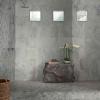 white & grey shower