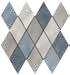 romboid mosaic blue mix