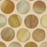 Butterscotch Silk Pennyround Mosaic
