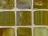 """Butterscotch Silk 1""""x1"""" Mosaic"""
