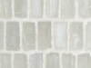 Ivory Silk Stacked Mosaic