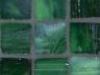 """Kelly Green Silk 1""""x1"""" Mosaic"""