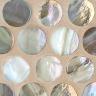 Platinum Pearl Pennyround Mosaic