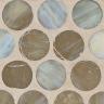 Platinum Silk Pennyround Mosaic