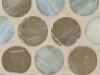 Platinum Silk Pennyround Mosaic