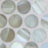 Silvermoon Silk Pennyround Mosaic