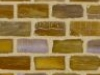 "Teak Silk 1/2""x1"" Mini Brick"