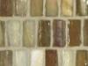 Teak Pearl Stacked Mosaic