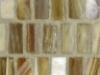 Teak Silk Stacked Mosaic