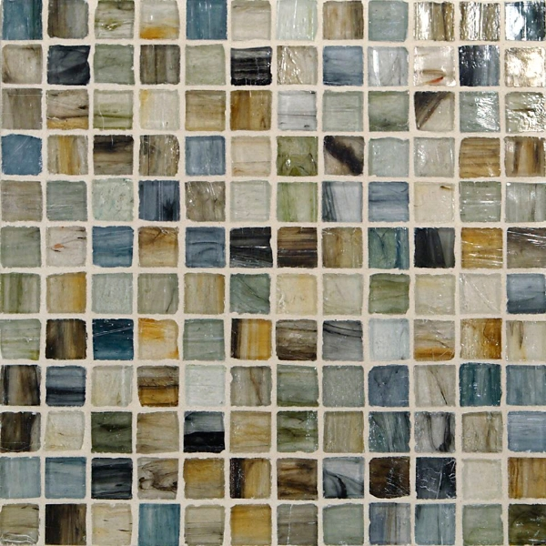"Kukai Natural 1/2"" x 1/2"" Mosaic"