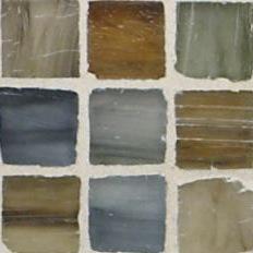 "Kukai Silk 1"" x 1"" Mosaic"