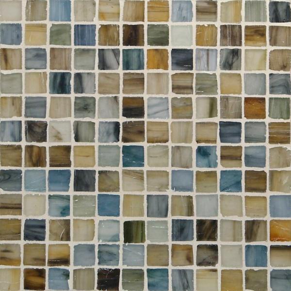 "Kukai Silk 1/2"" x 1/2"" Mosaic"