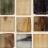 """Ahou Silk  1""""x1"""" Mosaic"""
