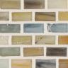 "Ahou Silk   1""x1""  Minibrick Mosaic"