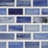 "Antimony Silk   1""x1""   Minibrick Mosaic"