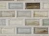 "Arsenic Natural   1""x1""  Minibrick Mosaic"