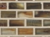 "Copper Silk   1""x1""  Minibrick Mosaic"