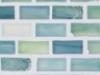 "Erbium Silk   1""x1""  Minibrick Mosaic"