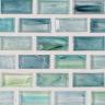 "Erbium Natural   1""x1""  Minibrick Mosaic"