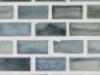 """Iodine Silk   1""""x1""""  Minibrick Mosaic"""