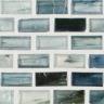 "Iodine Natural   1""x1""  Minibrick Mosaic"