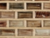 """Lithium Natural   1""""x1""""  Minibrick Mosaic"""