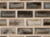 "Nickel Natural   1""x1""  Minibrick Mosaic"