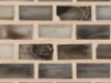 "Nickel Silk   1""x1""  Minibrick Mosaic"