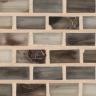 "Nickel Silk   1""x1""  Minibrick Mosaic"