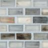 "Oxygen Silk   1""x1""  Minibrick Mosaic"