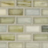 "Selenium Silk   1""x1""  Minibrick Mosaic"