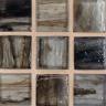 """Vanadium Silk  1""""x1"""" Mosaic"""