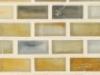 """Xenon Silk   1""""x1""""  Minibrick Mosaic"""