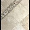 Desert Cream Limestone 12x12 Honed + 2x2 Tumbled