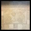 Desert Cream Limestone 4x4 Tumbled + 1x12 pencil