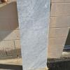 White Carrara Bench
