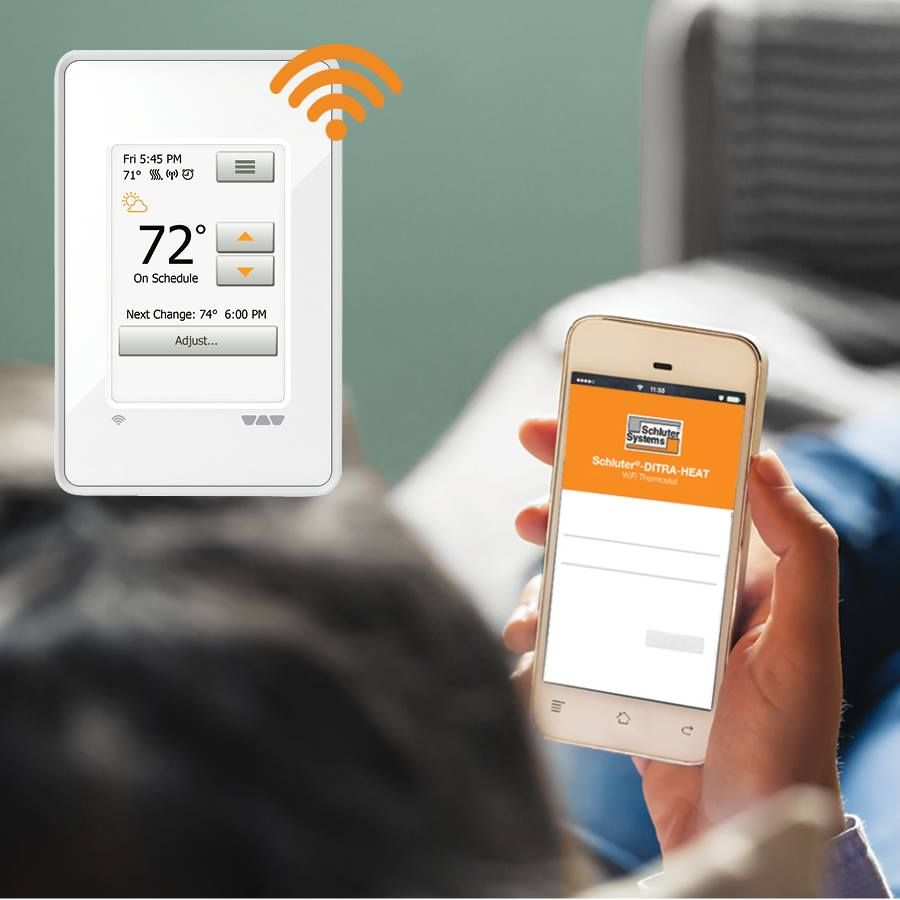 Thermostats: Programmable, Touch screen programmable, Wifi touch screen  programmable